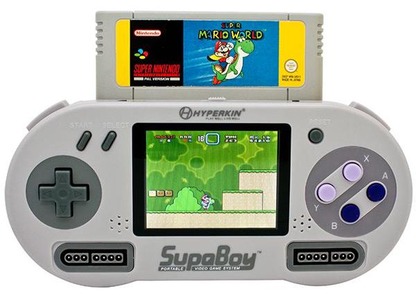 SNES clones Supaboy-video-game-system