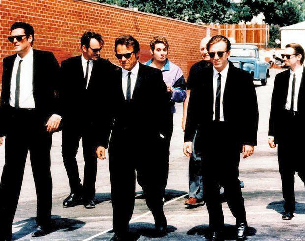 """Cena do filme """"Cães de Aluguel"""", de Quentin Tarantino (Reprodução)"""