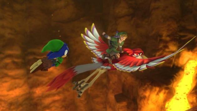 """Sonic e Link em expansão de """"Sonic: The Lost World"""", para Wii U"""