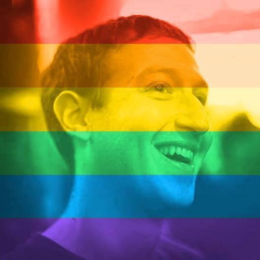 Imagem de perfil de Zuckerberg