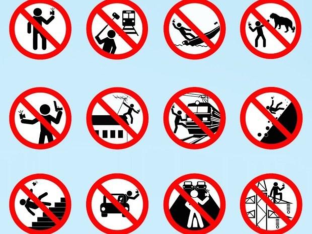 Guia russo para selfies seguras