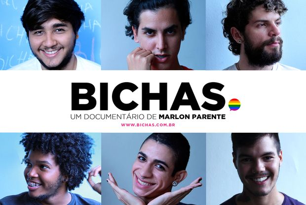 """Os protagonistas de """"Bichas, o Documentário"""""""