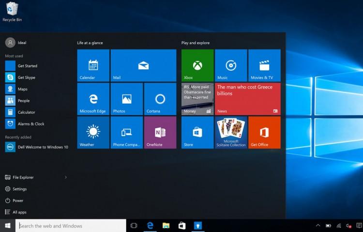 Windows 10, que está presente em 350 milhões de dispositivos