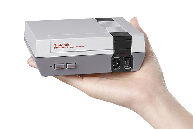 Em versão mini do NES, jogador terá acesso a games clássicos como 'Super Mario Bros'